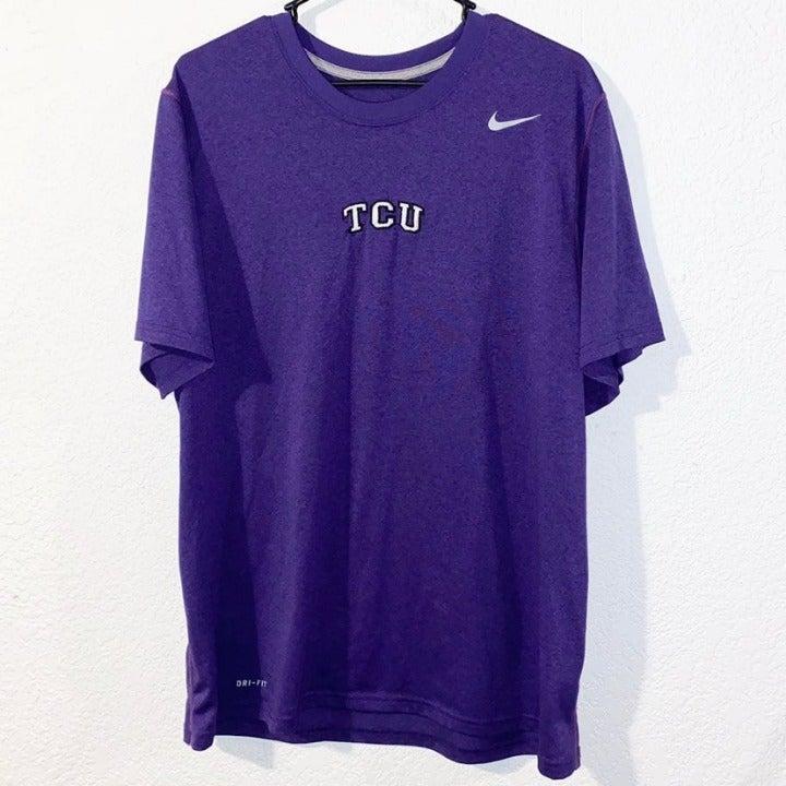 men NIke TCU shirt