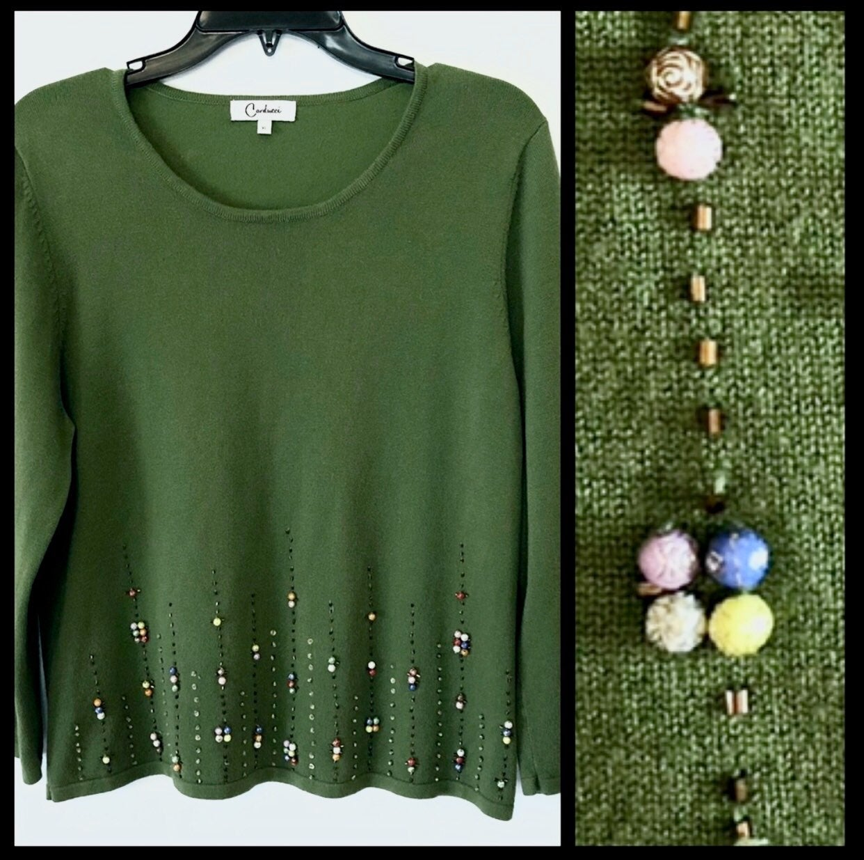 Carducci Embellished Sweater