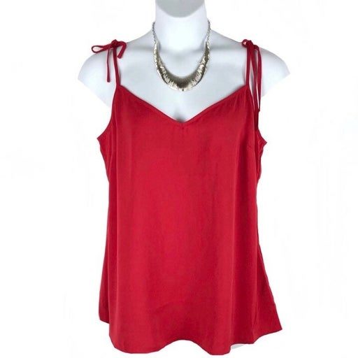 City Chic Red Sweet Tie Camisole