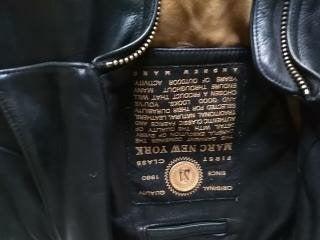 Marc New York / Men's Leather Jacket
