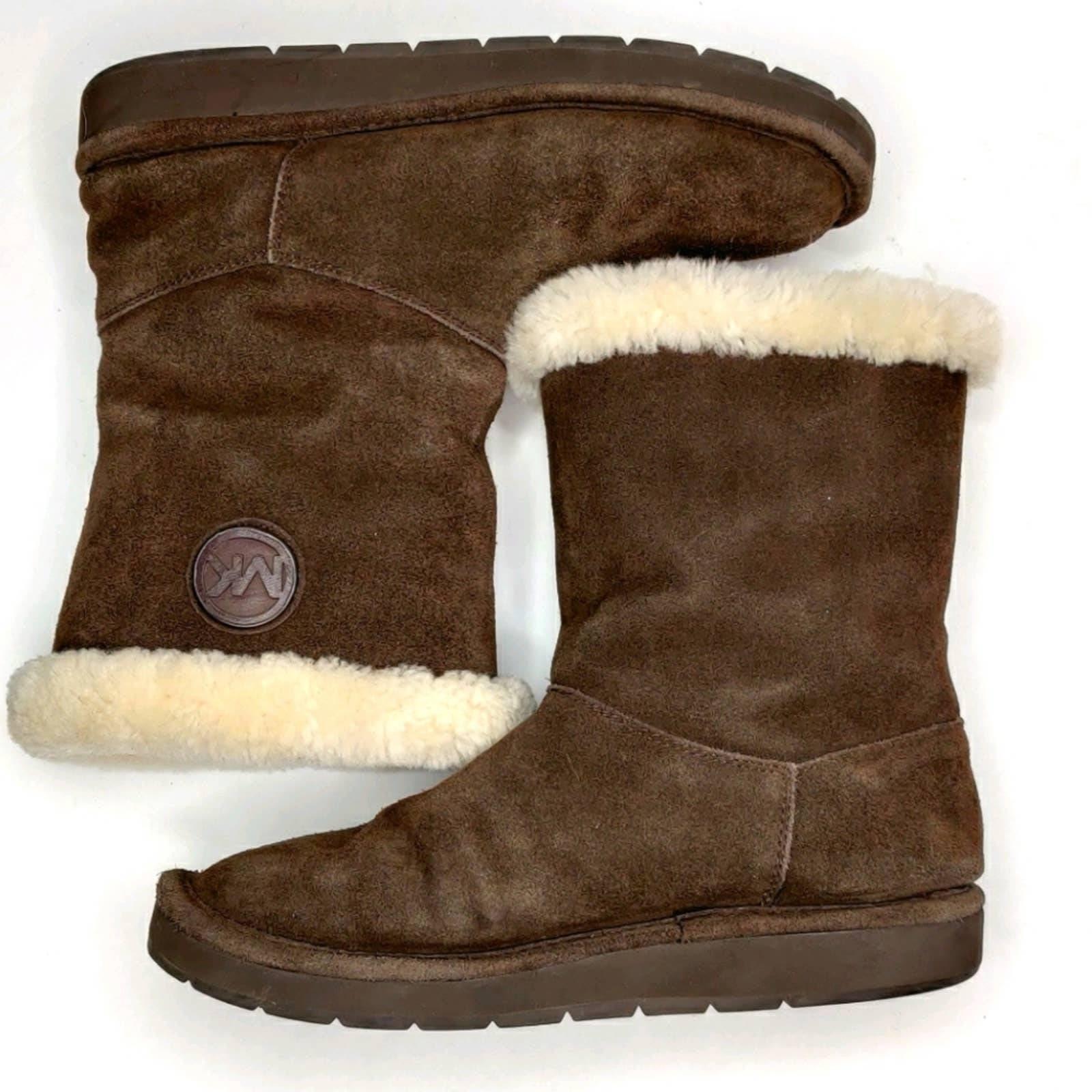 Michael Kors Chocolate Brown Boots