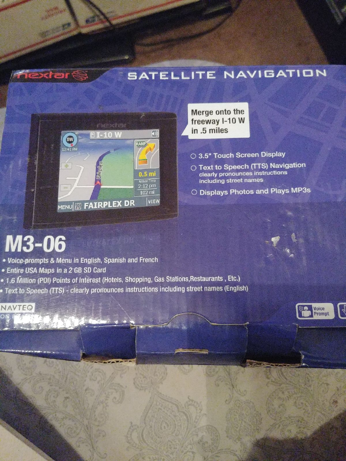 "Nextar M3-06 3.5"" Satellite Navigation"