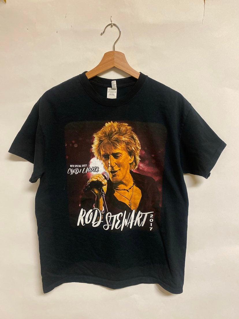 Rod Stewart - Cindy Lauper Tee