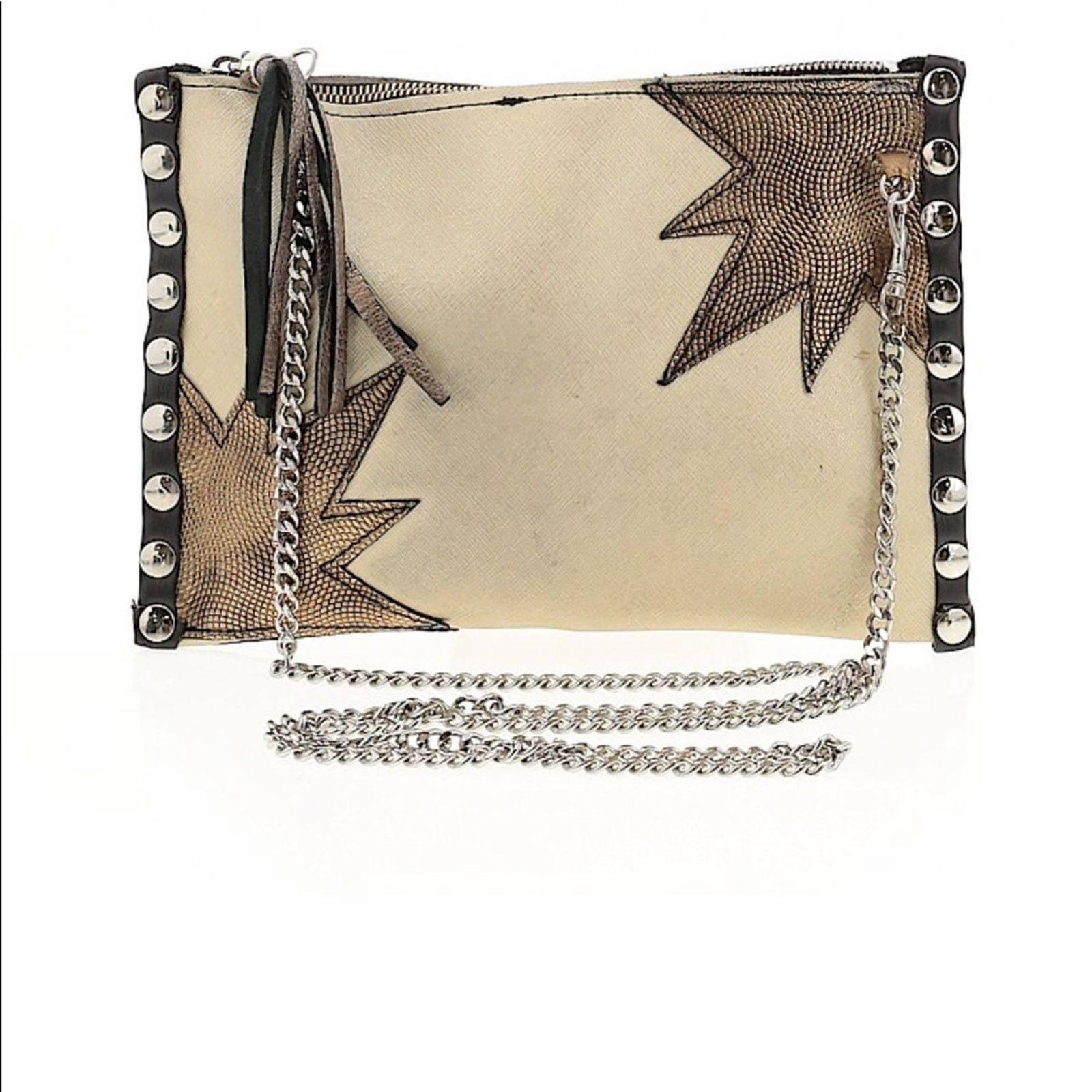 Anthropologie Leather crossbody bag