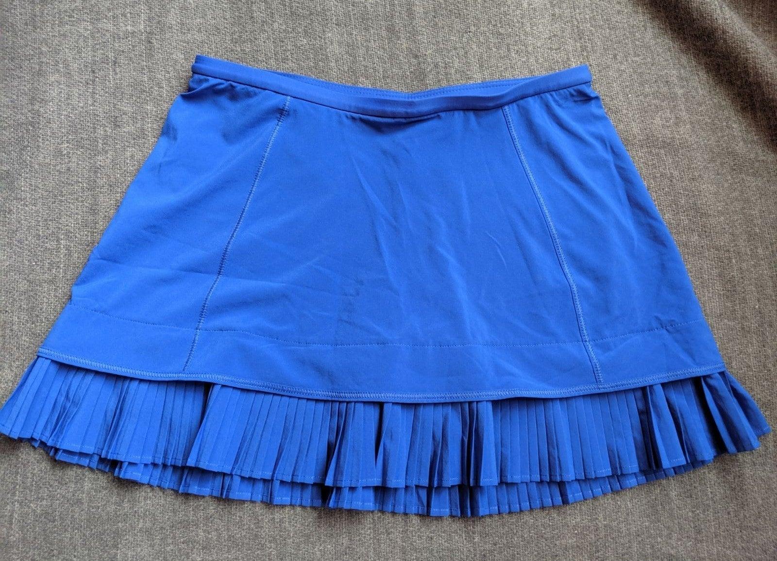 Lululemon City Sky Run By Skirt Blue 2