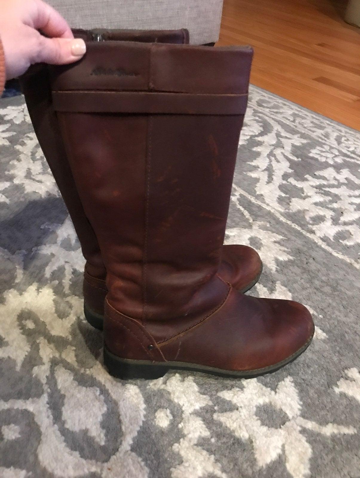 Eddie Bauer Trace Boots 6.5 Espresso