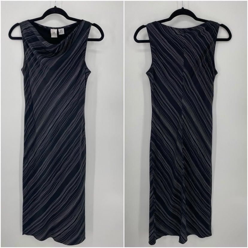Armani Exchange AX Black Sleeveless Silk