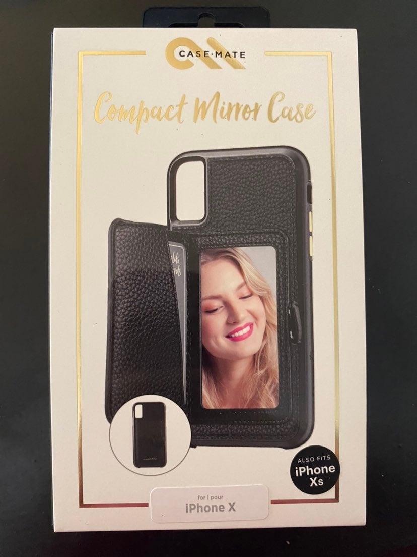 Mirror card phone case