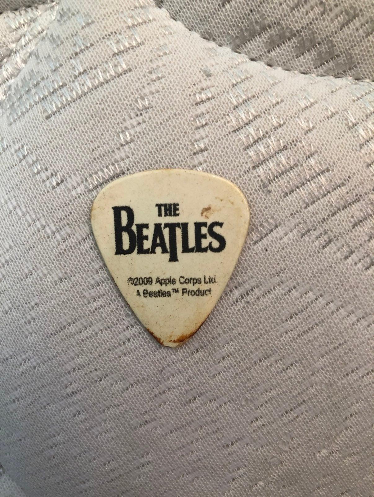 The Beatles guitar pick