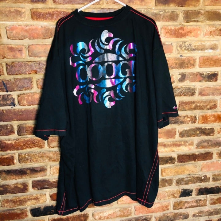 RARE COOGIE 5XL tee Shirt Holographic