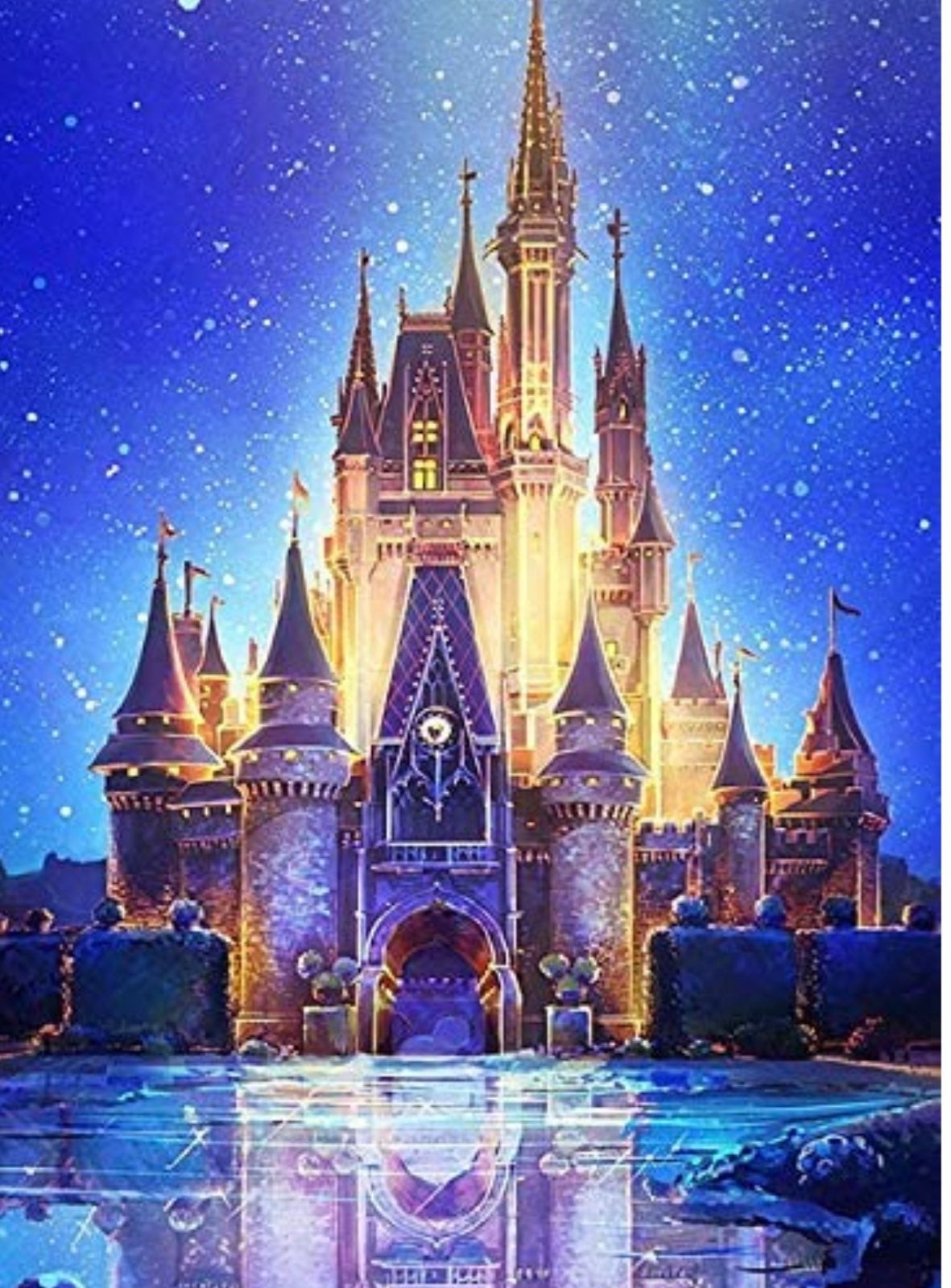 DIY 5D Diamond Painting Kit Castle