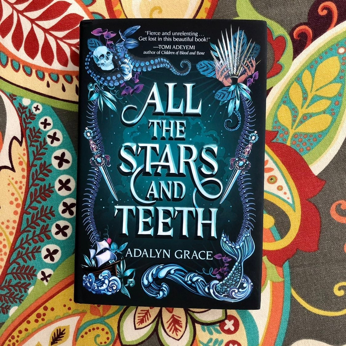 All the Stars and Teeth Owlcrate SIGNED