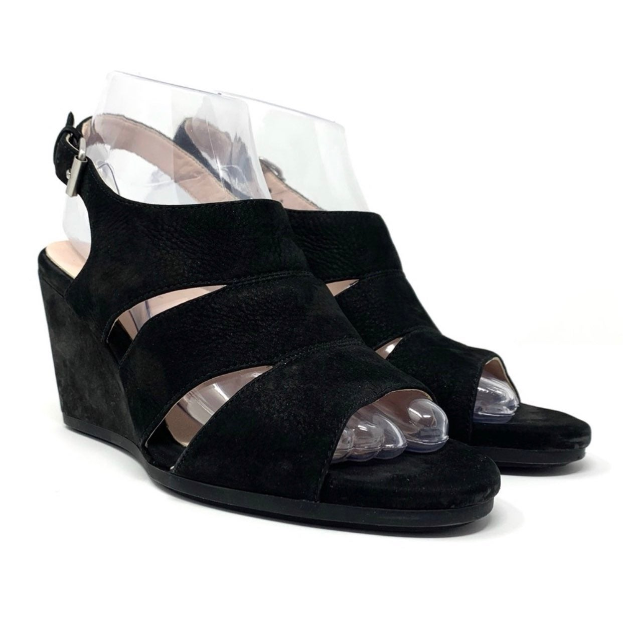 Taryn Rose Dee Dee Nubuck Wedge Sandals