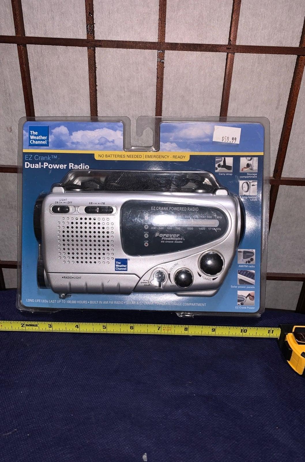 Radio The Weather Channel EZ Hand crank