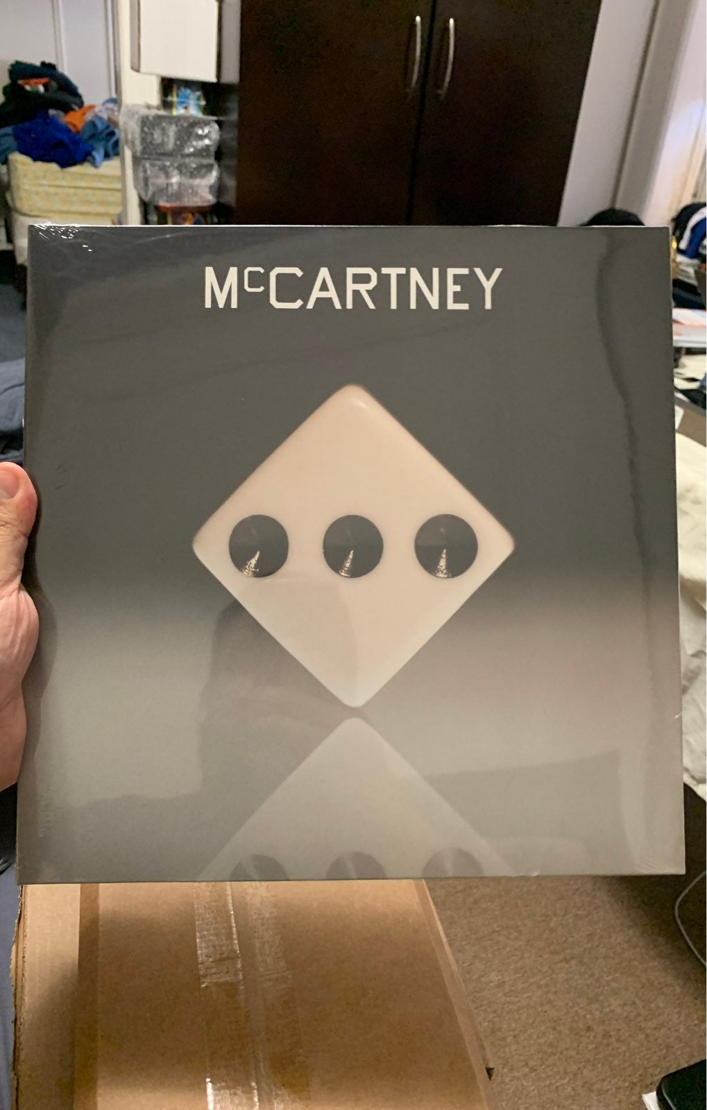 """Paul McCartney III Orange vinyl lp 12"""""""