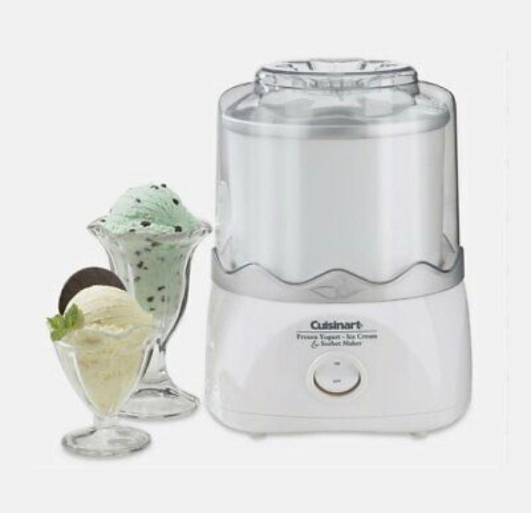 Cuisineart Ice cream/frozen yogurt maker
