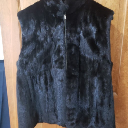 Real Mink Fur Vest