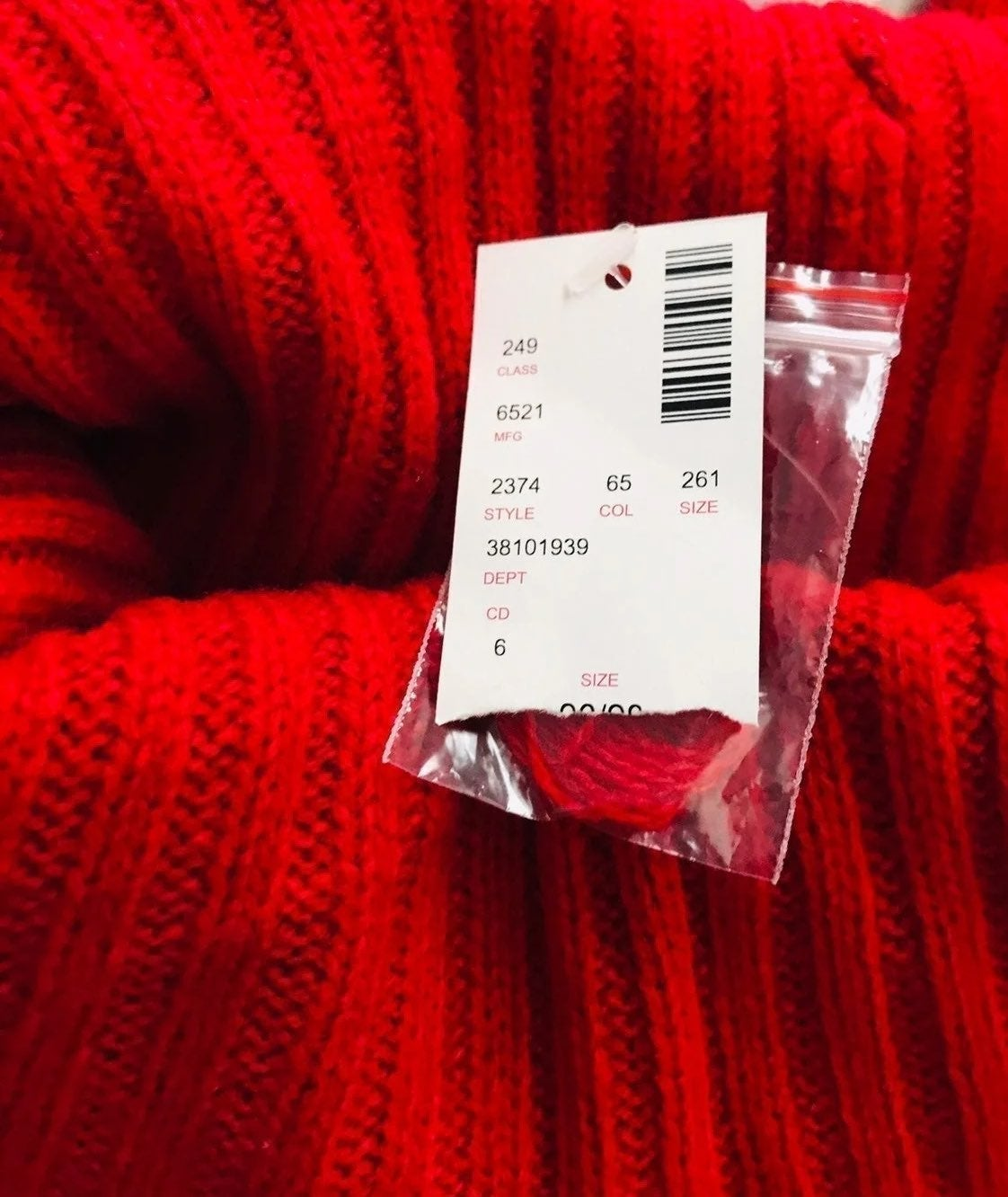 "Red Womens ""New"" Sweater"