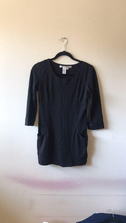 Max Studio tunic top black size XS