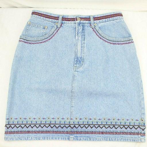 VTG CROSSROADS Denim Skirt Size 10
