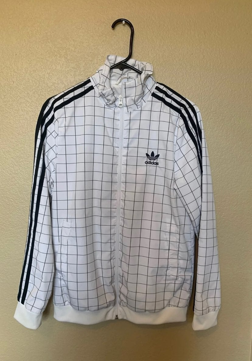 Adidas OG trefoil Checkered ZipUp Jacket