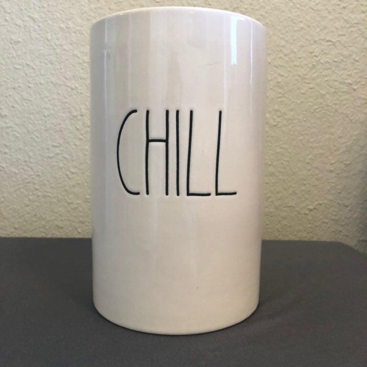 Rae Dunn chill wine bottle holder