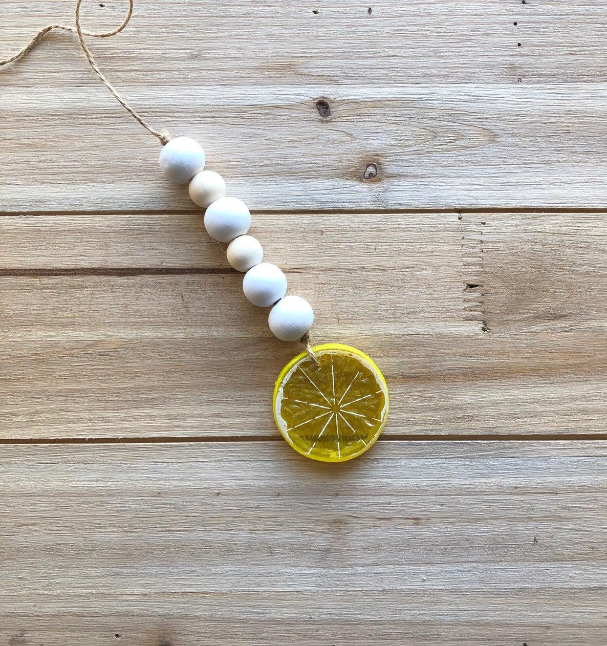 Mini Lemon Farmhouse garland