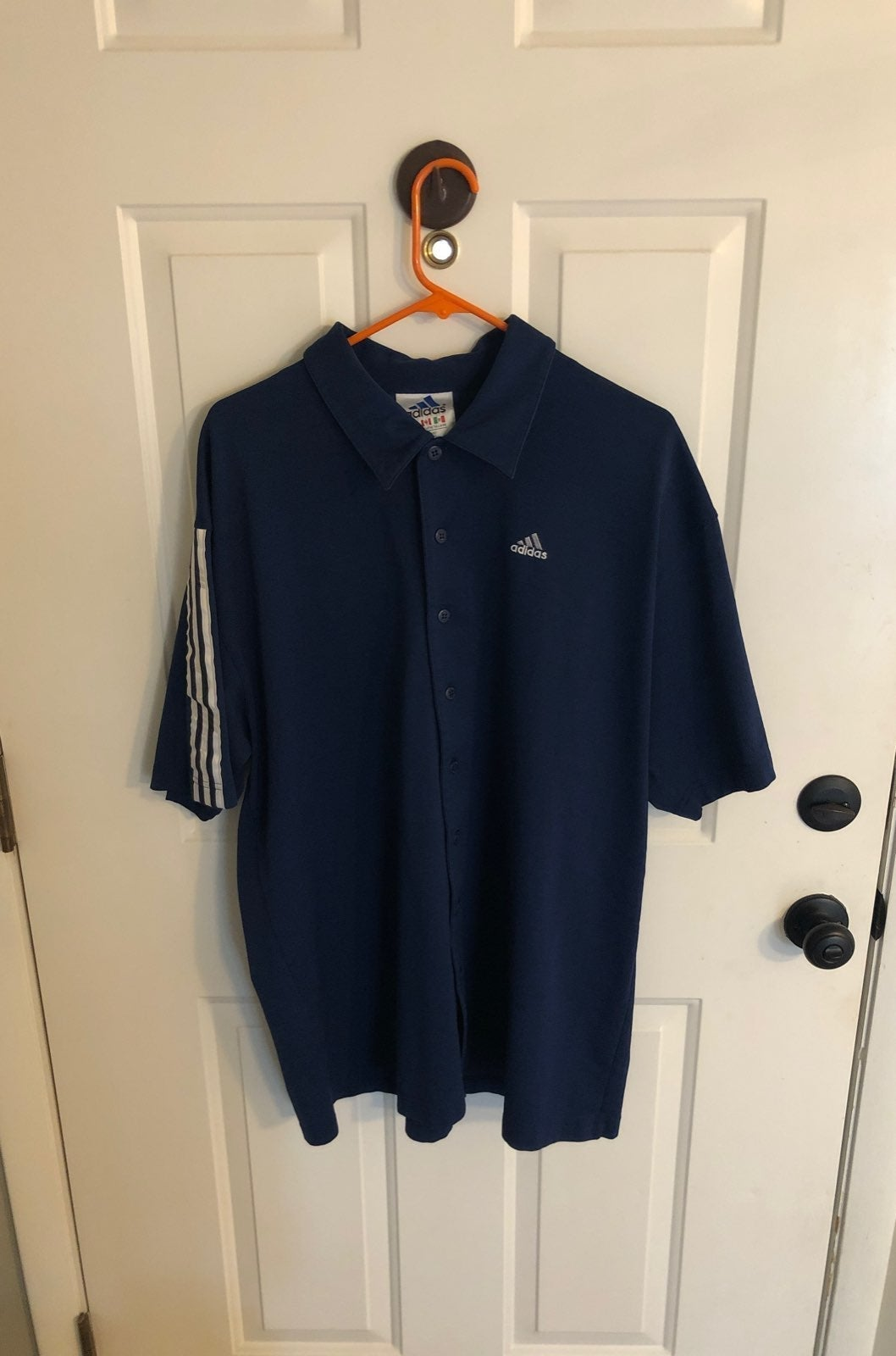 Vintage adidas button up