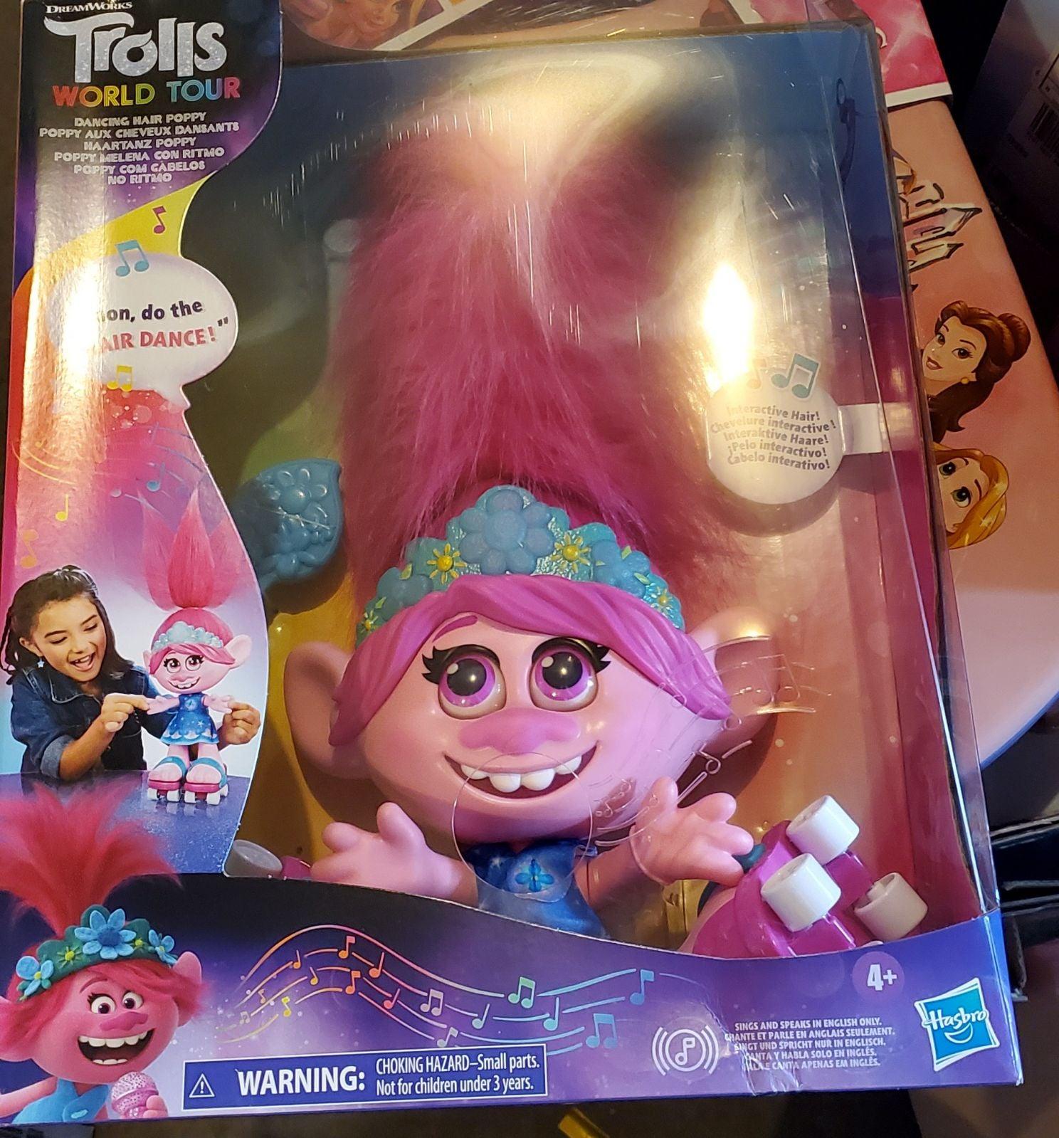 Trolls Dancing Hair Poppy