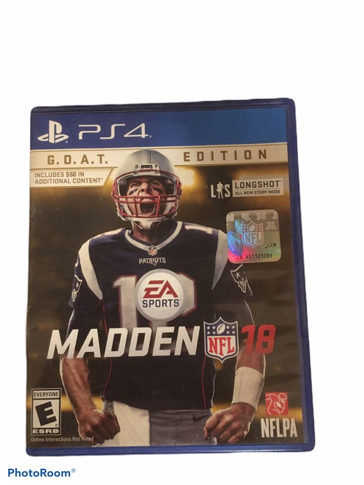 PS4 Madden NFL 18