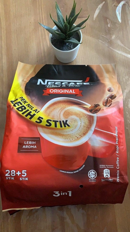 Nescafe 3 in 1 original 33 pcs pack