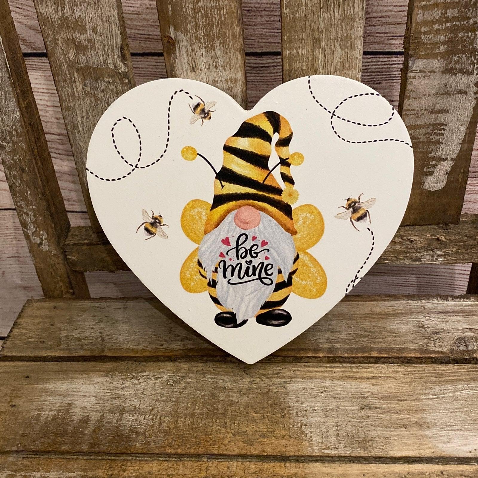 Be Mine Bee Heart Decor