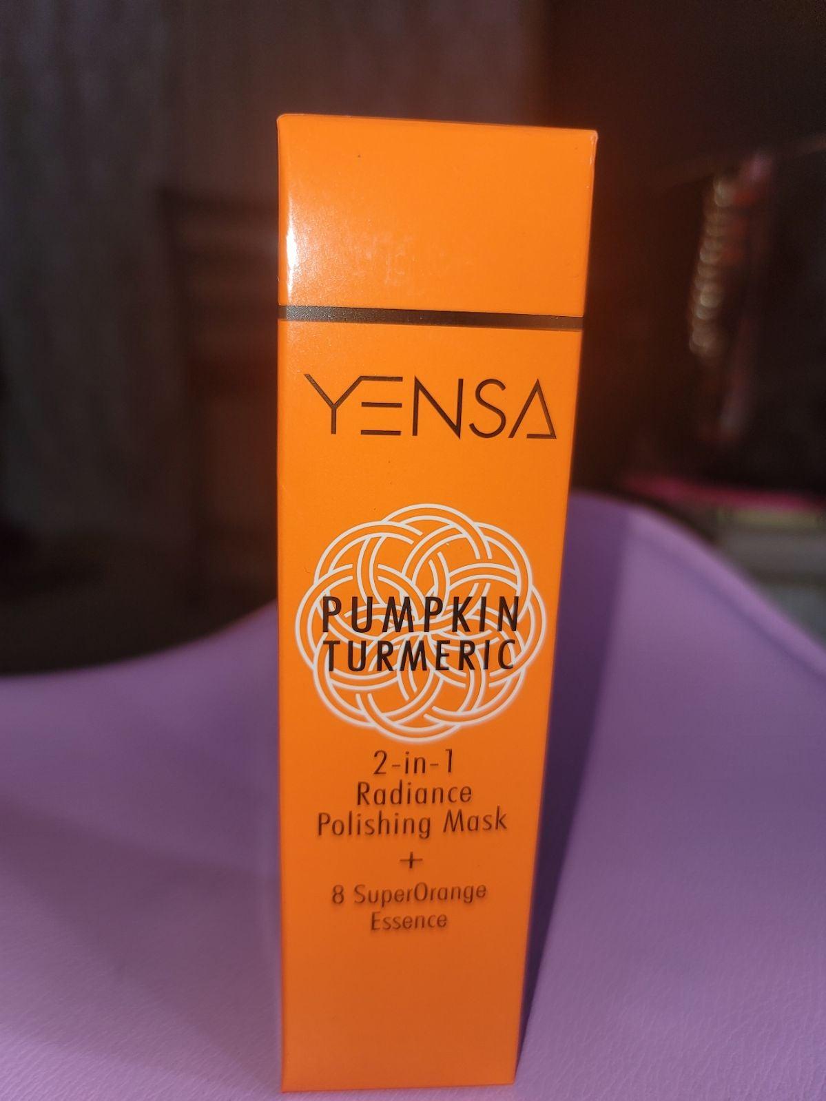 Yensa Pumpkin Turmeric Mask