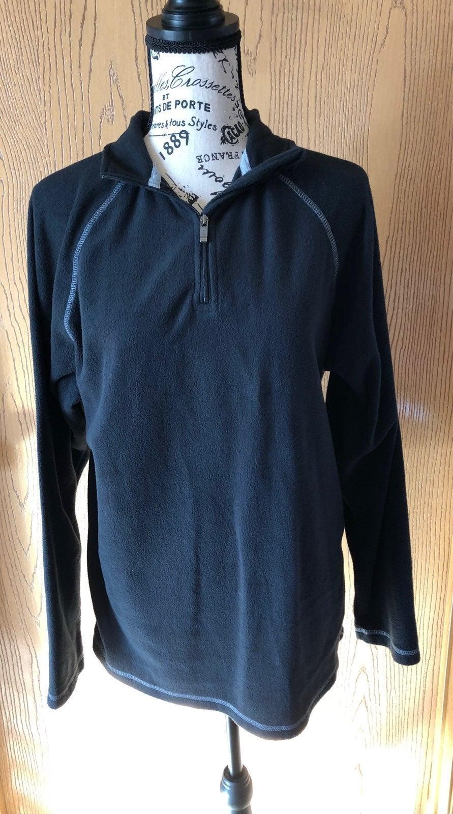 Weatherproof 1/4 Zip Fleece Jacket Sz M