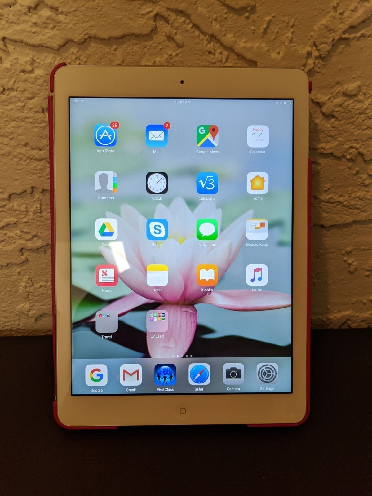 iPad Air 1st gen silver 16 GB WiFi only