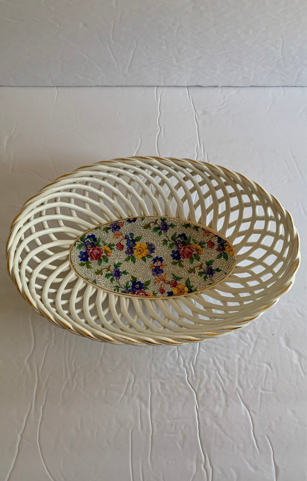Vintage Erphila Warwick Braided Dish
