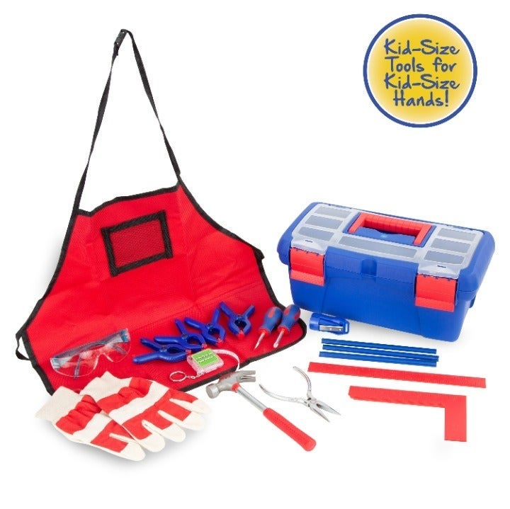 18-Piece Tool Set with Toolbox 6+