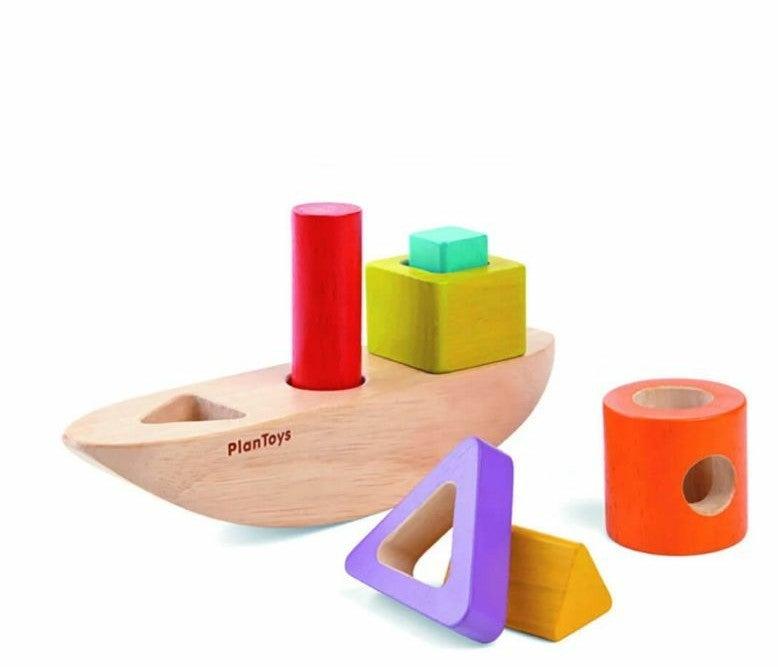 Plan Toys Stacking Boat