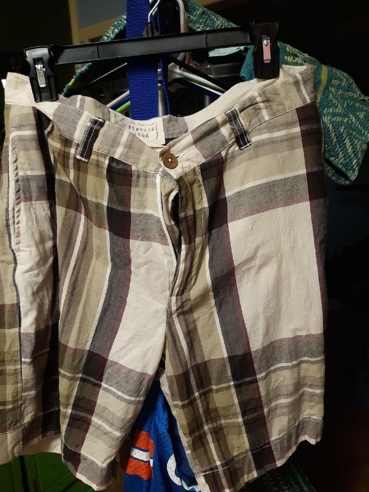 shorts men vintage 1946