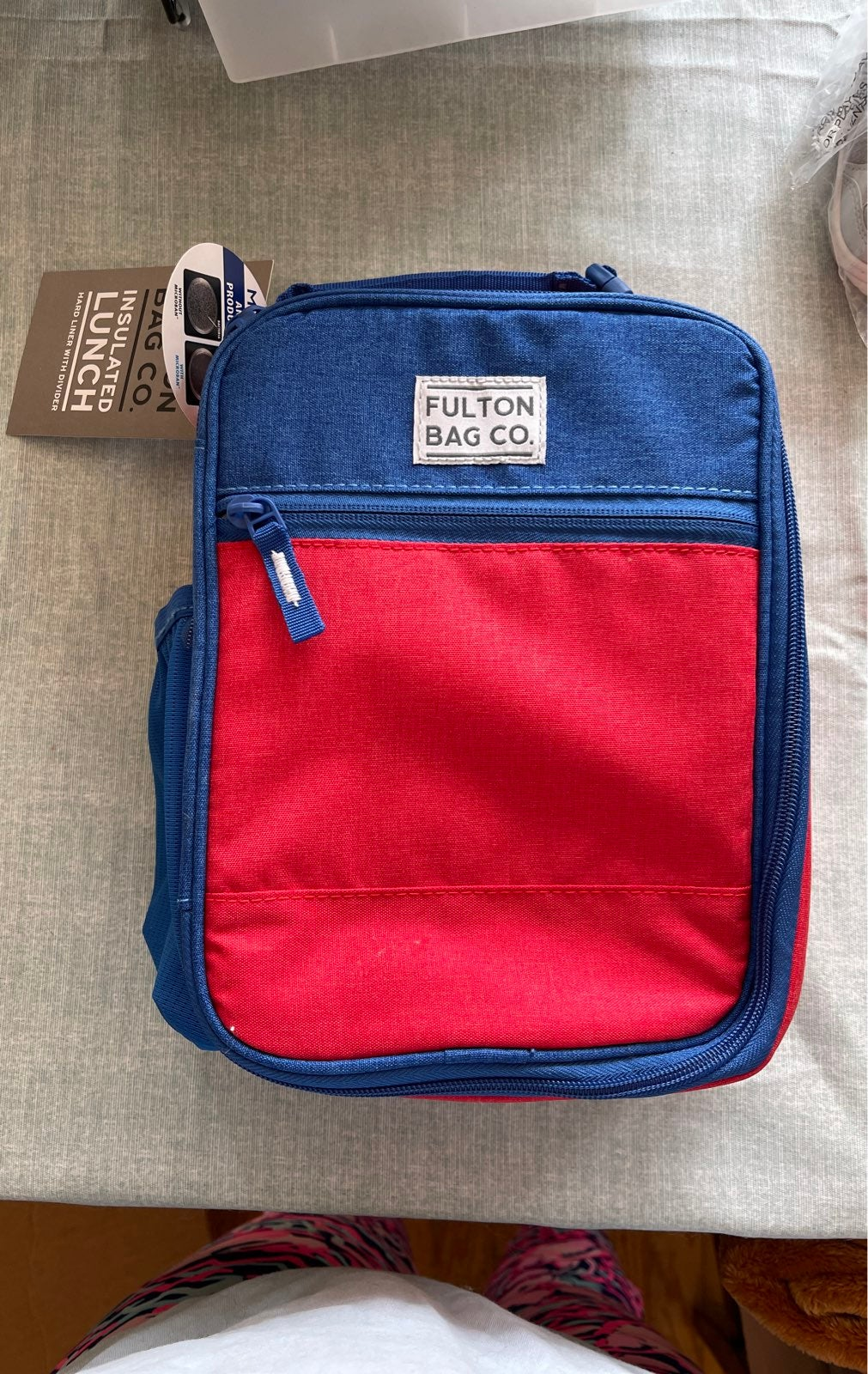 Fulton bag co. Insulated lunch box