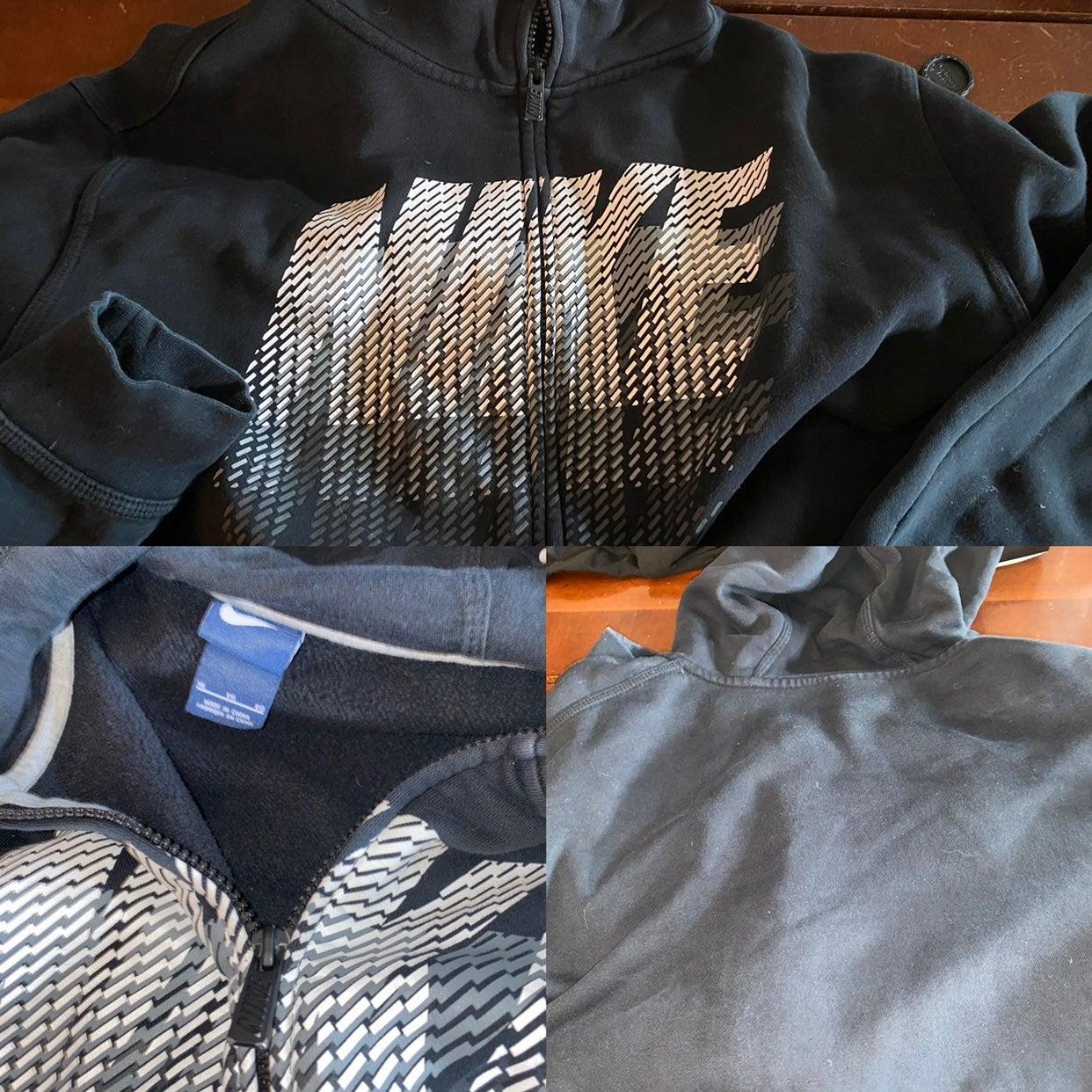 Nike zip up hoodie men xl