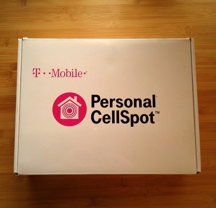 T-Mobile 4GLTE Cellspot + Signal Booster