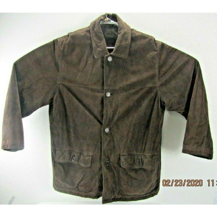 Vintage Coach dark brown super soft Leat