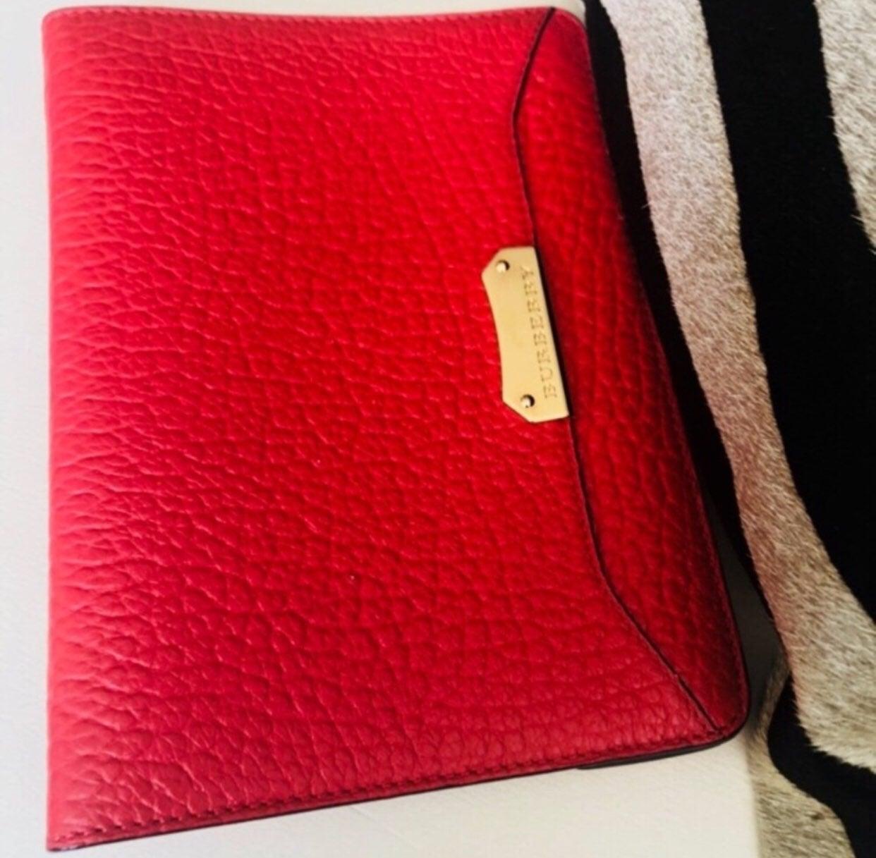 Burberry Leather ipad Mini cover $510