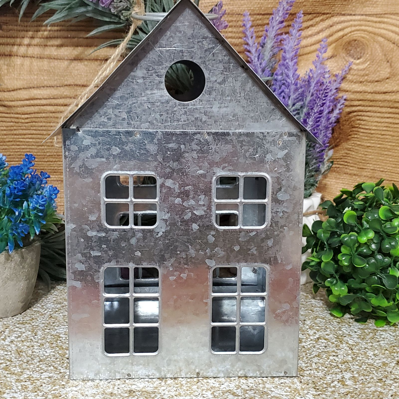Rustic Farmhouse Galvanized  Metal House