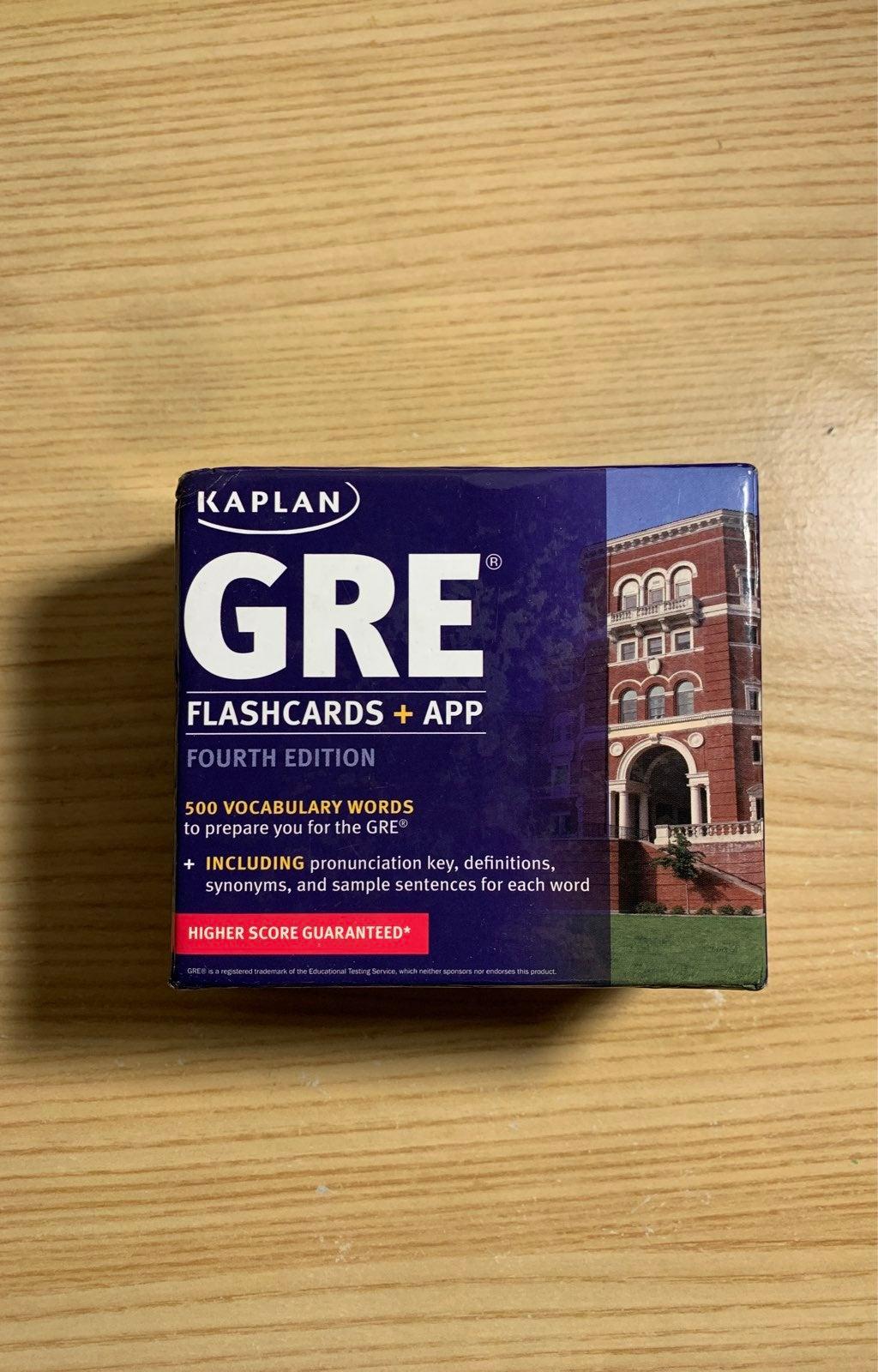 GRE flashcards - Kaplan