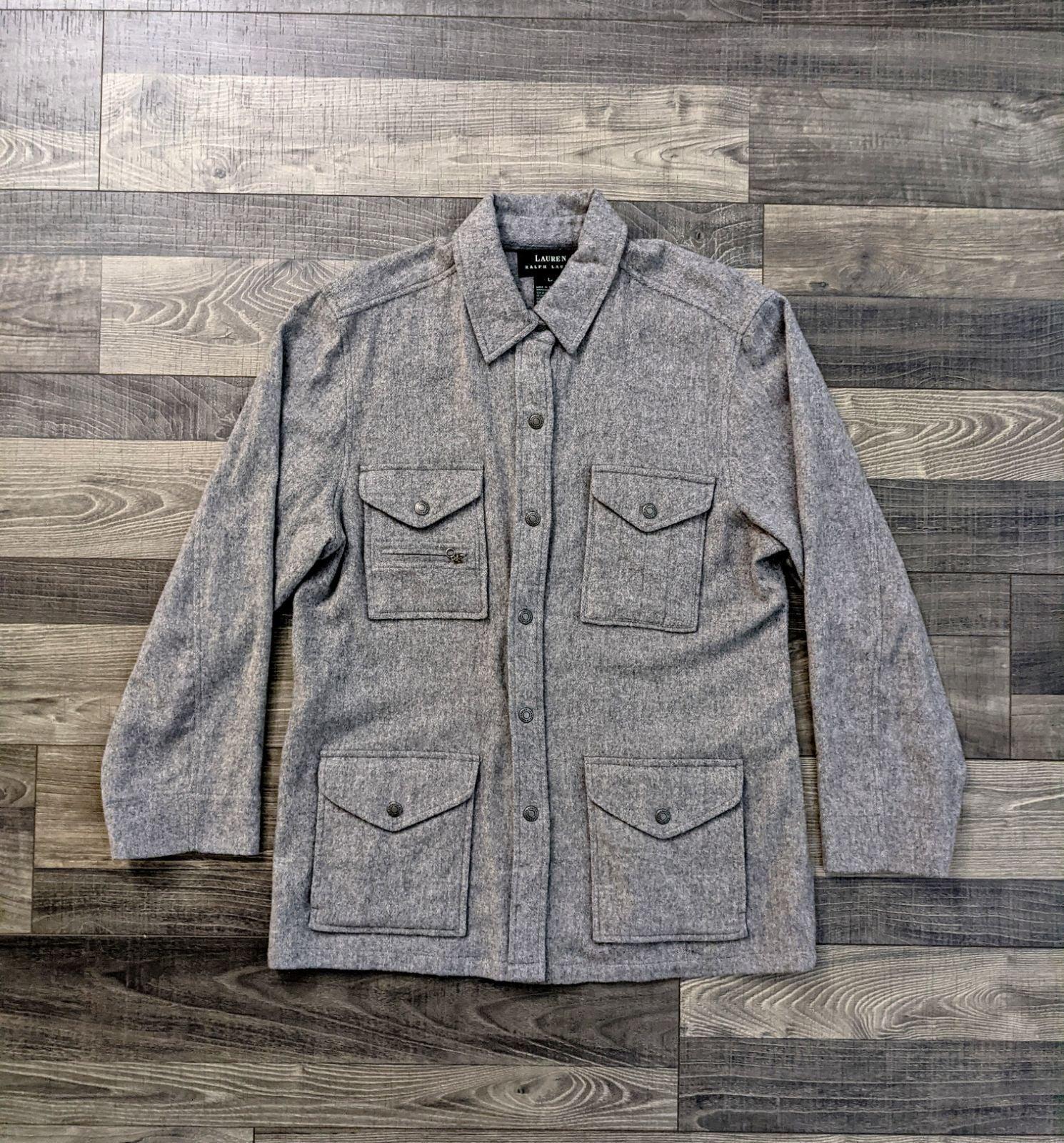 Vintage Wool Ralph Lauren Coat
