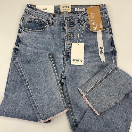 Kenzie Ultimate High-Rise Skinny Jeans