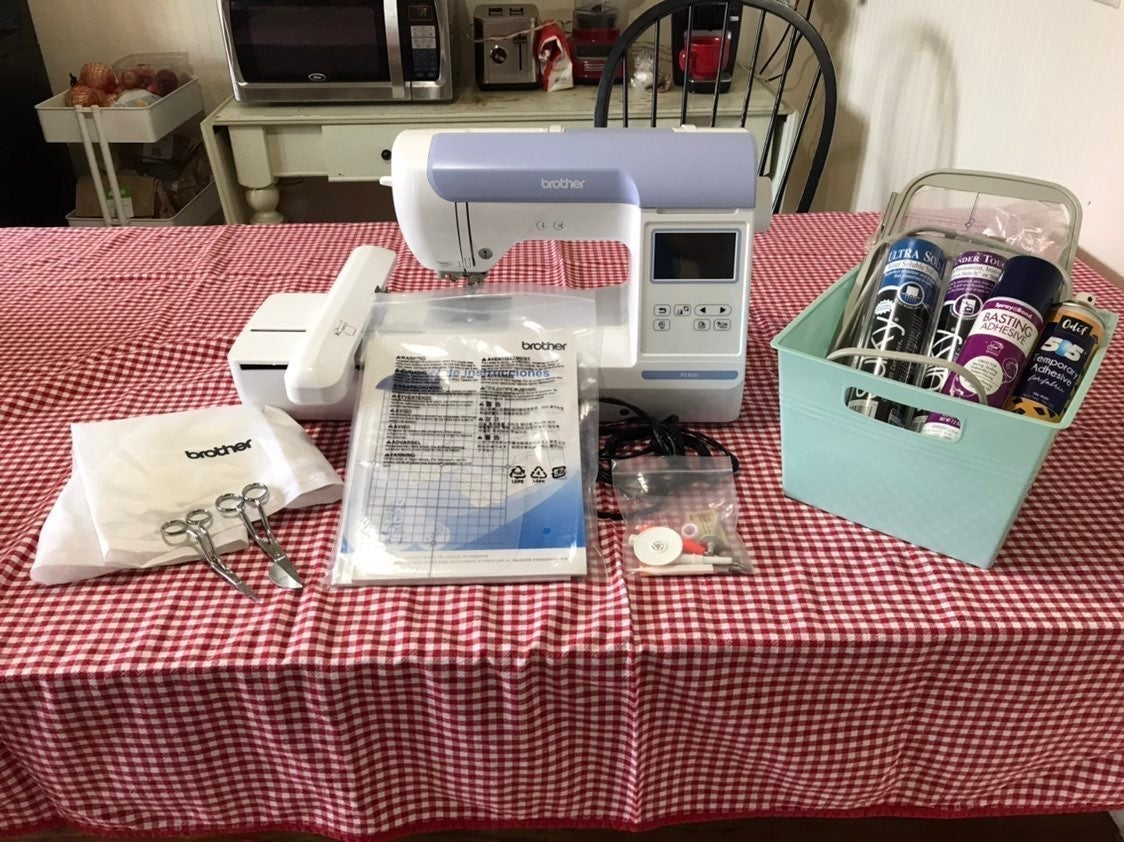 *BUNDLE Brother PE800 5x7 Embroidery
