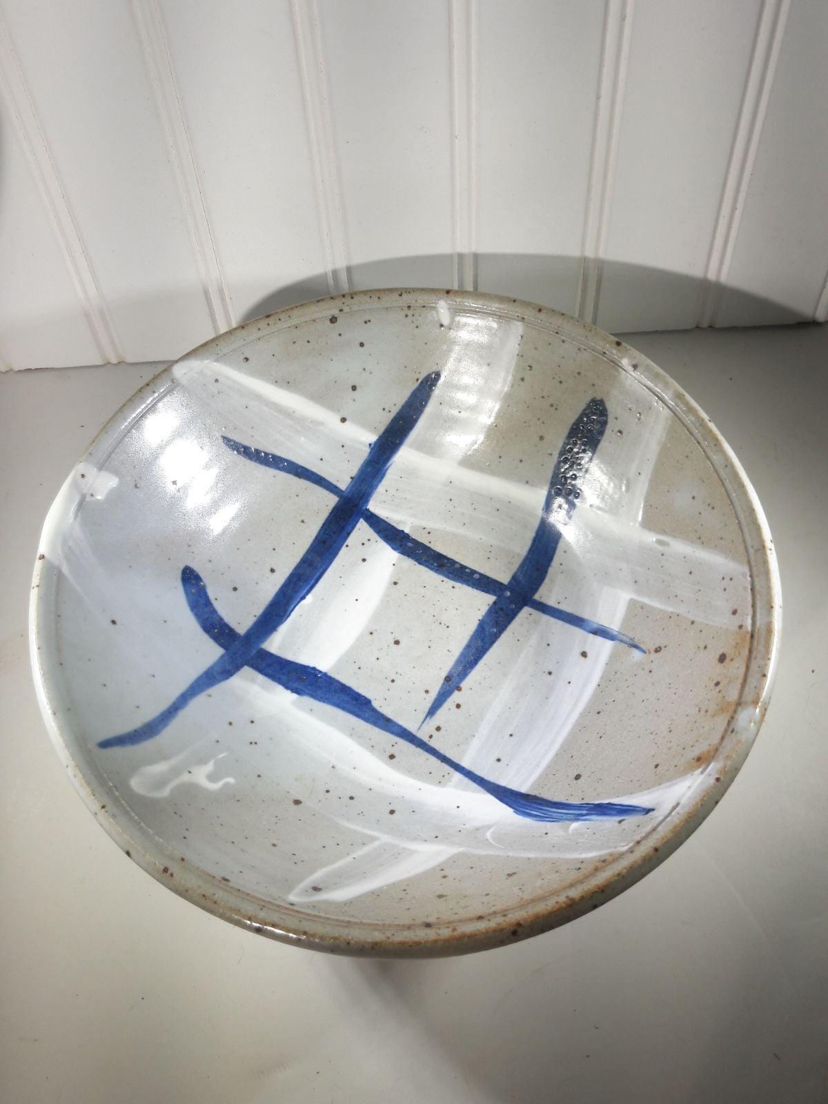 Handmade Studio Art Pottery Bowl by Marc